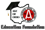 AGC of Ohio Education Foundation Scholarship Applications Due February 3, 2017