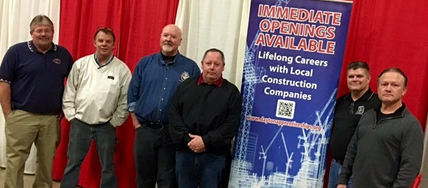 MV Building Trades Apprenticeship Group Attends Construction Career Fair